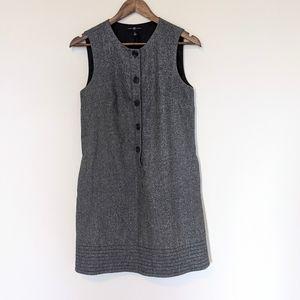 GAP  Dress Wool Sleeveless Heathered Gray Size 4